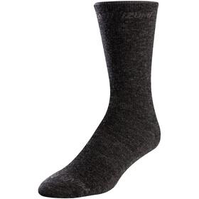 PEARL iZUMi Calze alte in lana merino, nero